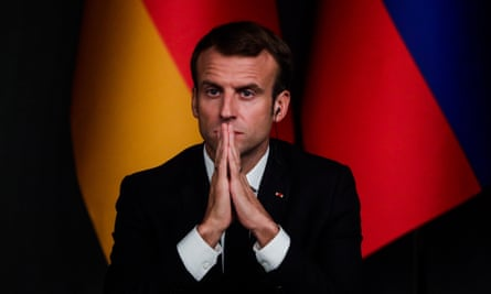 Emmanuel Macron, who could give Europe new leadership after Angela Merkel's departure, has seen his popularity plunge to new lows.