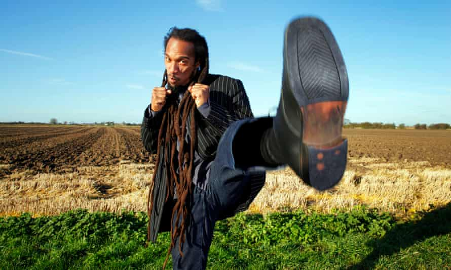 Benjamin Zephaniah: 'Having dyslexia can make you creative. If you want to construct a sentence and can't find the word you are searching for, you have to think of a way to write round it.'