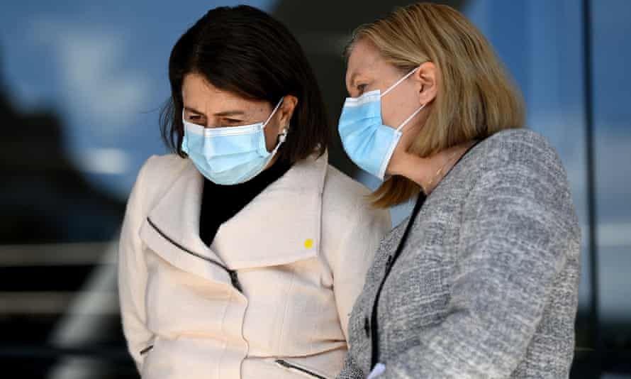 Dr Kerry Chant has been by Gladys Berejiklian's side throughout the Covid-19 pandemic