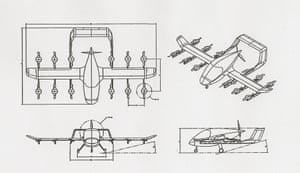 Part of Kitty Hawk's FAA application.