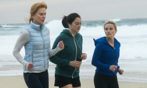 Nicole Kidman, Shailene Woodley and Reese Witherspoon in Big Little Lies.
