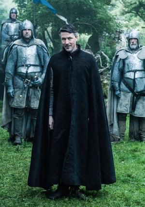 Aidan Gillen as Littlefinger.