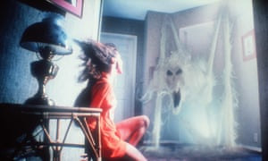 Poltergeist, 1982, directed by Tobe Hooper.
