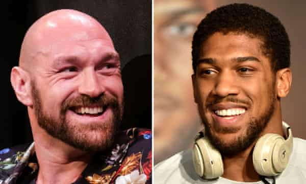 Tyson Fury and Anthony Joshua have signed a two-fight deal, according to promoter Eddie Hearn.