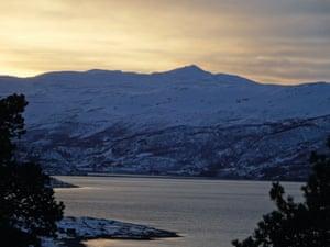 Haldde mountain in Norway