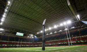 The Principality Stadium with roof closed.