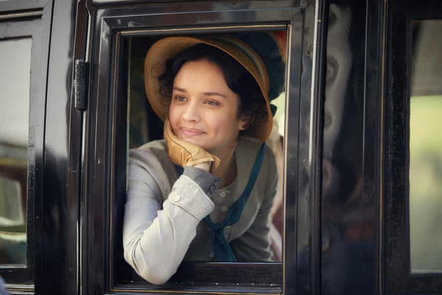 Olivia Cooke as Becky Sharp in the ITV version of Vanity Fair