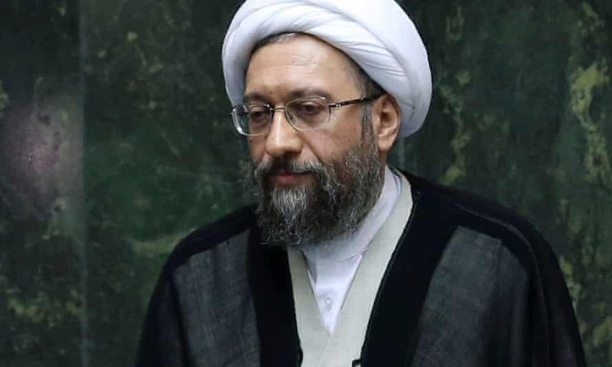Judiciary chief Sadeq Larijani.