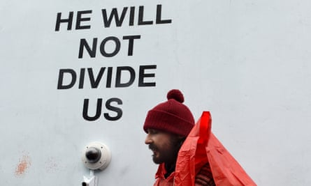 Plagued by disruption … Shia LaBeouf in New York in January.