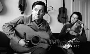 Tom Paley and Peggy Seeger in the mid-1960s.