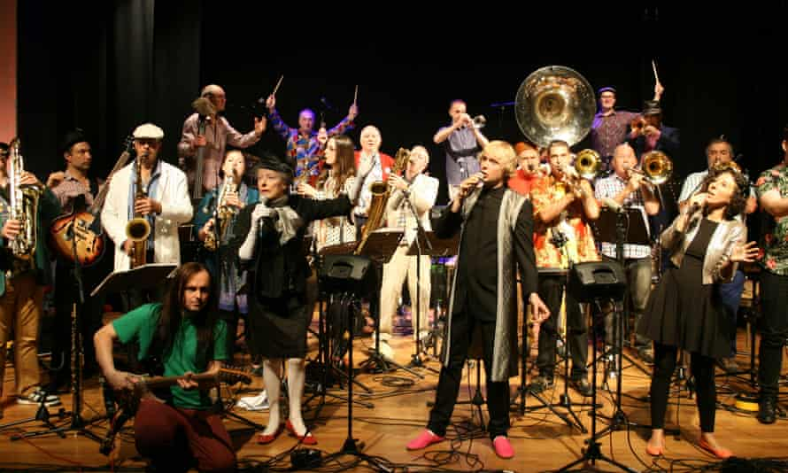 Mike Westbrook's 21-piece band
