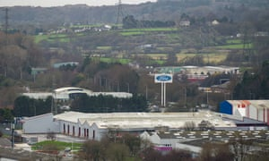 Ford's Engine Plant in Bridgend, Wales, where 400 jobs are expected to go by the end of the year