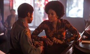A story to tell ... Alston (Lawrence Gilliard Jr) and Sandra (Natalie Paul).