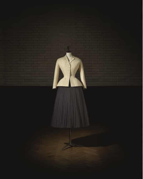 Christian Dior (1905–57), Bar Suit.