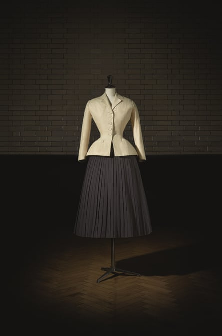 Bar Suit, haute couture, spring/summer 1947 by Christian Dior.