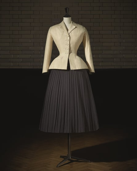 Dior's classic bar suit from his first collection in 1947.