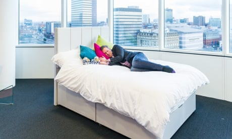 When coffee isn't enough: startups aim to bring back nap time – for a fee
