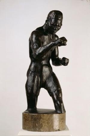 Der Boxer by Rudolf Belling (1929). Photograph: bpk/ Nationalgalerie, SMB / Klaus Göken