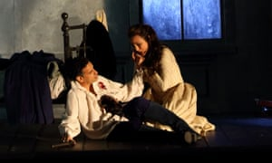 Juan Diego Flórez and Isabel Leonard in Werther at the Royal Opera House.