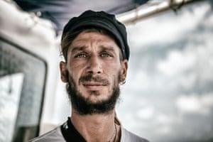 Tanguy Louppe, of SOS Méditerranée