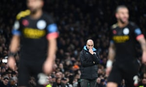Pep Guardiola: 'If your rival is so far ahead there must be something missing'.