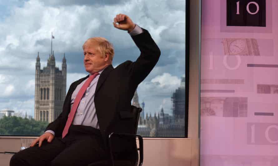 Boris Johnson on the Andrew Neil show.