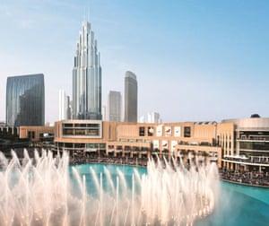 The Address The BLVD, a five star 72 storey hotel in Dubai