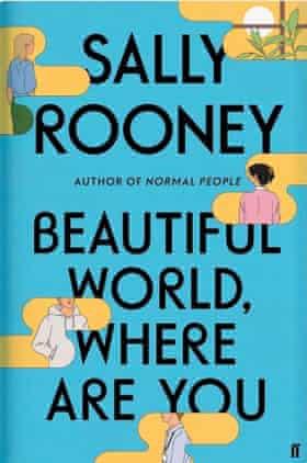 The jacket of Sally Rooney's latest novel