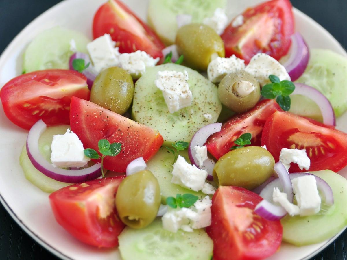 Greek Salad Recipe Guardian