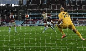 Mason Greenwood beats Manchester United second.