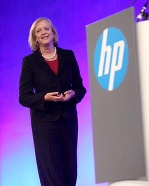 Meg Whitman, Hewlett Packard's chief executive.