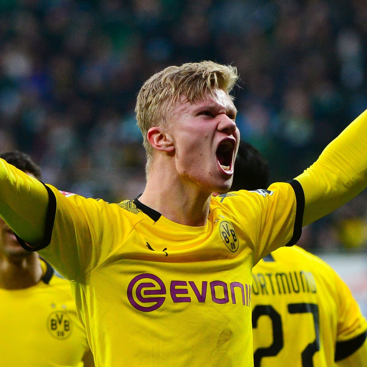 Erling Braut Haaland Brings Freshness To A Game In Thrall To Pixels And Profit Borussia Dortmund The Guardian