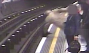 CCTV footage of the attack drew gasps from the public gallery.