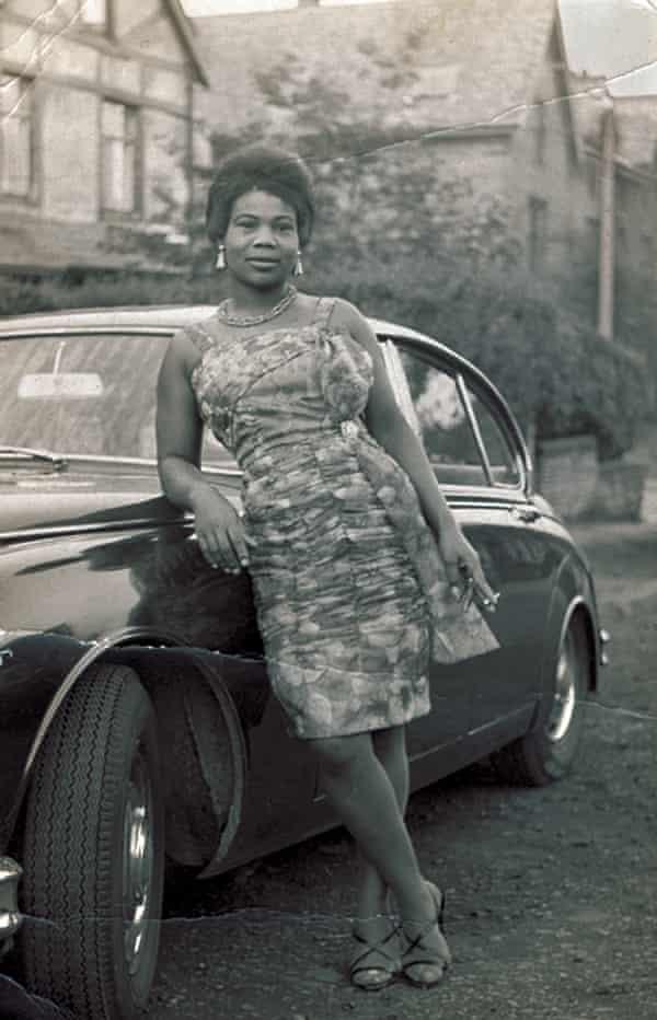 Carol Tulloch's 'Aunt G', Gloria Bennett, in 1961.