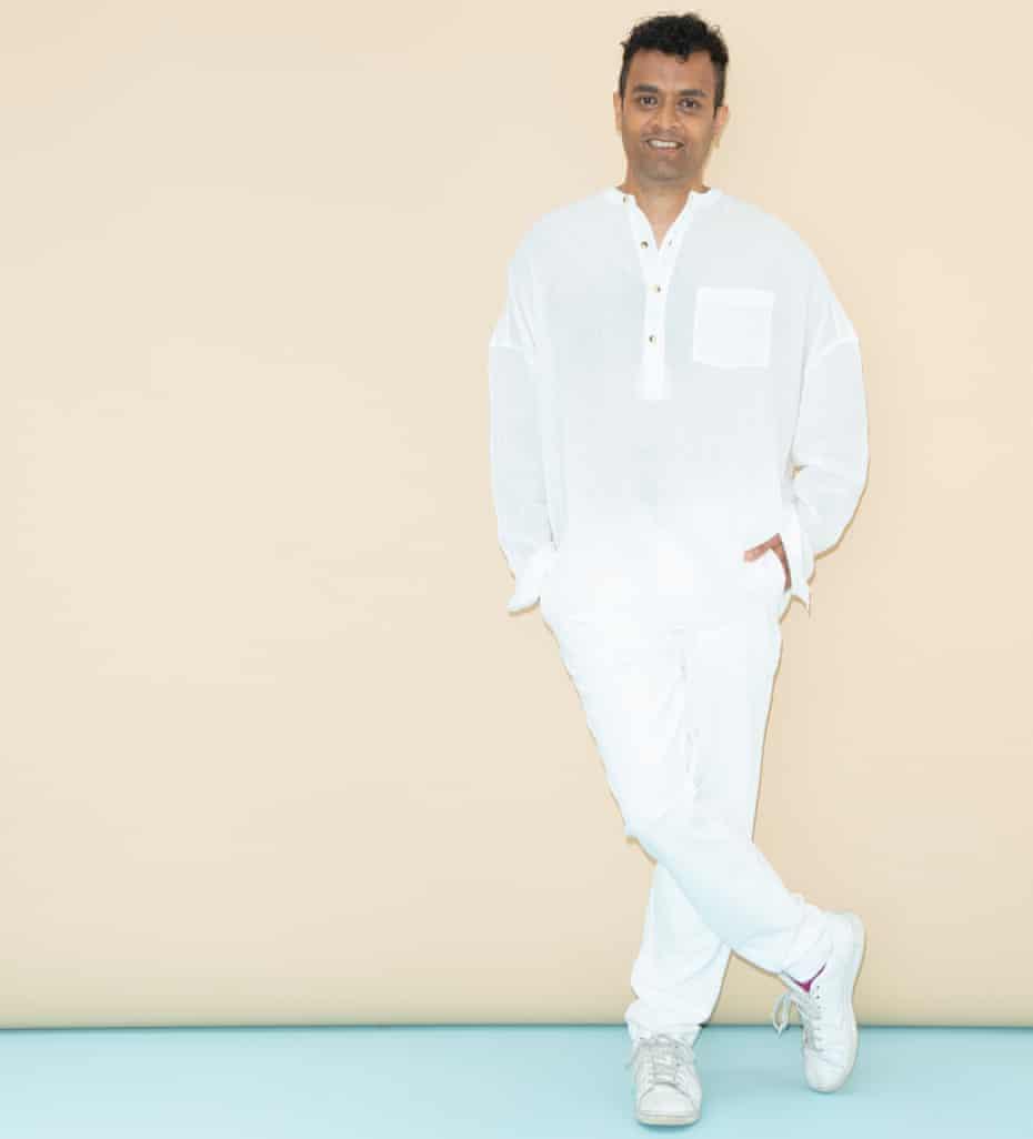 Priya Elan in white