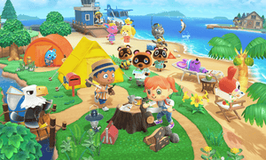 'A game to be played at a placid pace': Animal Crossing: New Horizons.