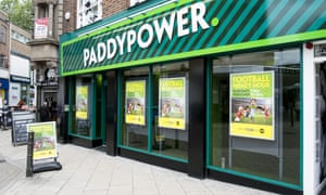 A branch of Paddy Power