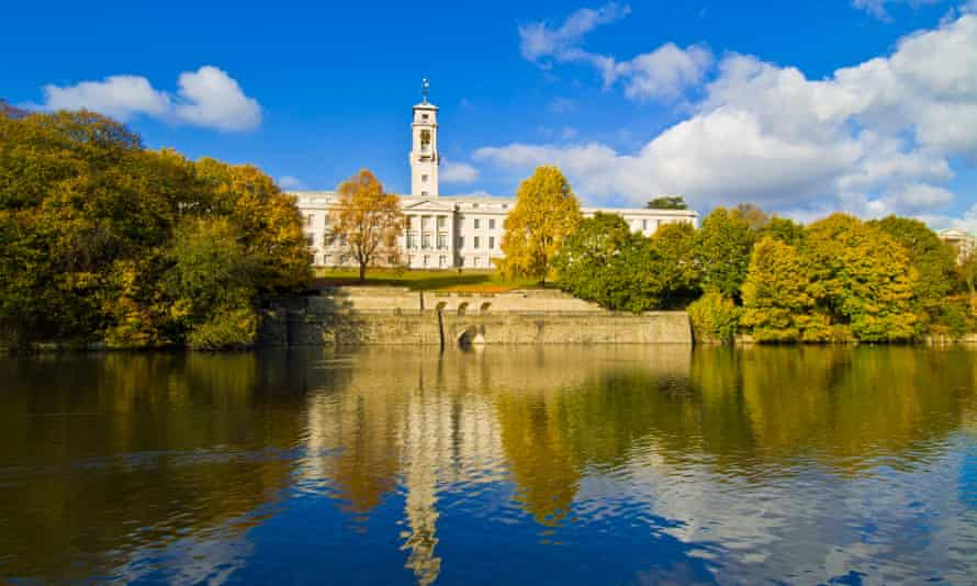 The grounds of the University of Nottingham.