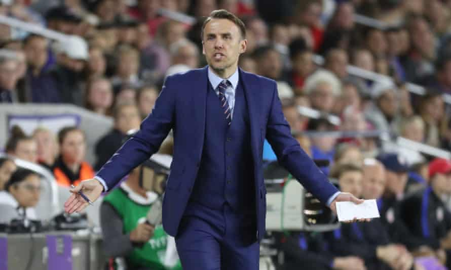 England women's manager Phil Neville says he will fight to get the best for his side.