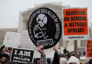 A Pro-Life demo in the US