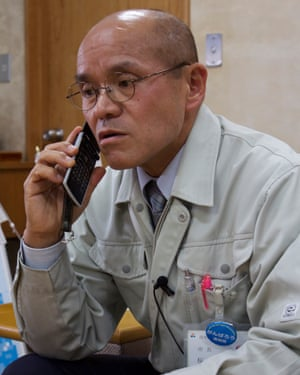 Katsunobu Sakurai, the mayor of Minamisoma, located north of the Fukushima Daiichi nuclear power plant.