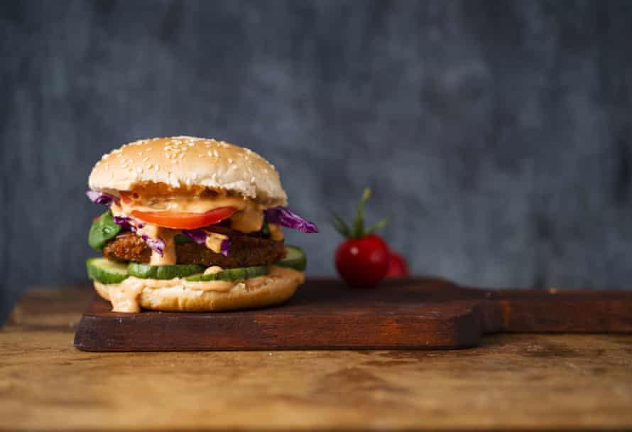 Is a veggie burger actually a burger?