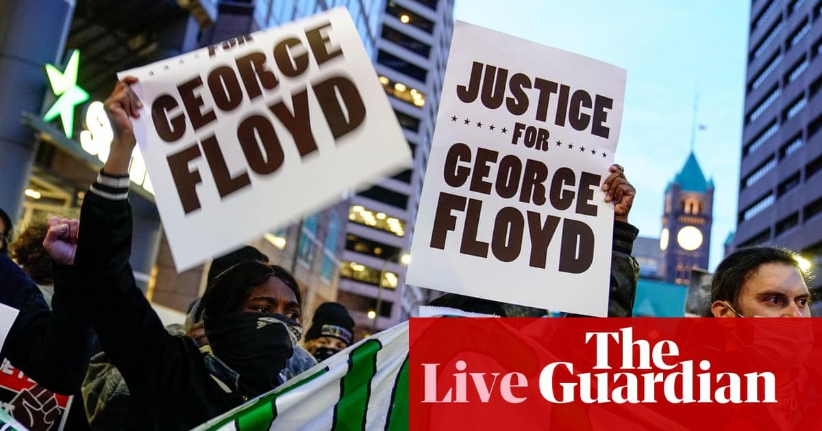 Washington tense as America awaits Derek Chauvin verdict – US politics live
