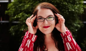 Visions of pure power … Naomi Alderman. Photograph by Felix Clay for the Guardian