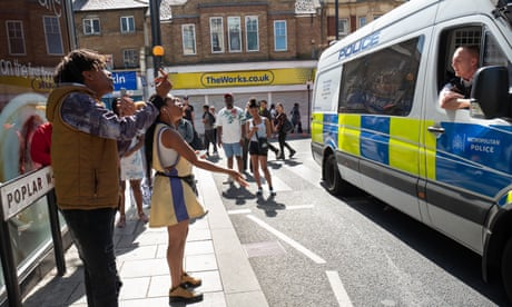 Out on the 'microbeats' where police hope to reclaim London's streets from gangs