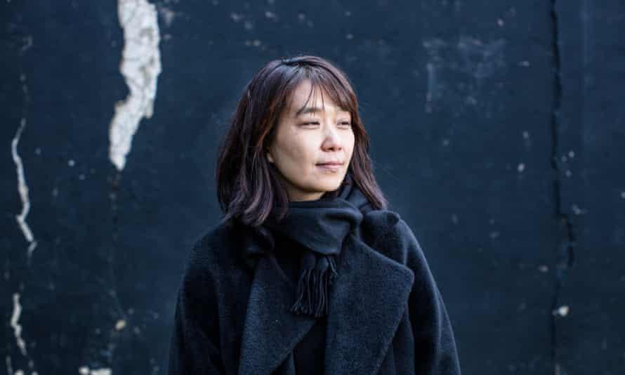 Han Kang South Korean author London Photograph by David Levene 12/12/15