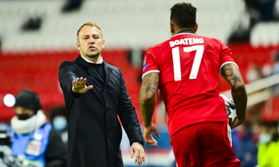 Jérôme Boateng's treatment was seen as the final straw for Hansi Flick.