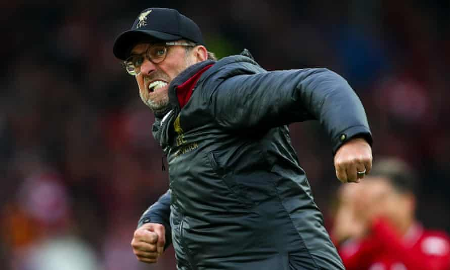 Jürgen Klopp praised the battling spirit Liverpool showed in taking a late victory against Spurs in a game they went close to losing.