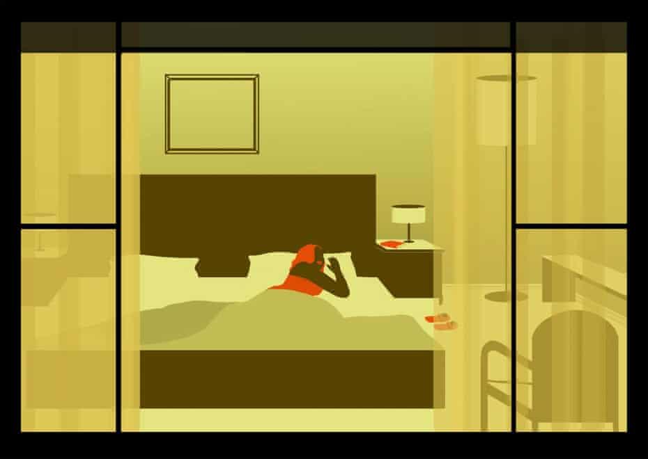 Illustration courtesy of Emiliano Ponzi, Sunrise Hotel exhibition, Wunderkammer, Rome 2012