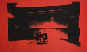 Little Electric Chair by Andy Warhol. The artwork entered Cooper's touring equipment collection, and disappeared.